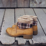 Fall Legend Booties in Sand: Alternate View #3