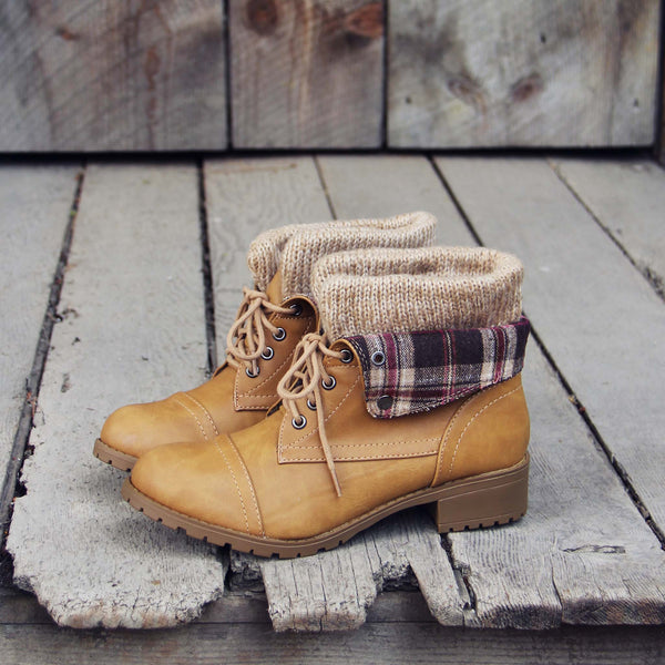 Fall Legend Booties in Sand: Featured Product Image
