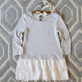 Fall Tale Lace Sweatshirt: Alternate View #2