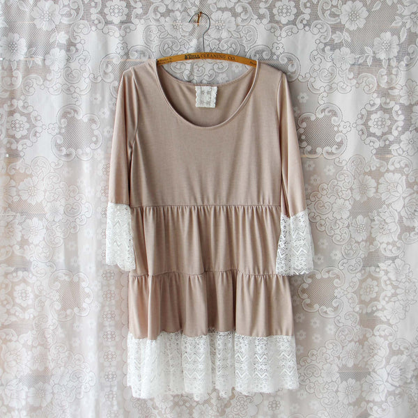 Fawn Lace Dress: Featured Product Image