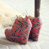 Feather & Arrow Booties: Alternate View #3