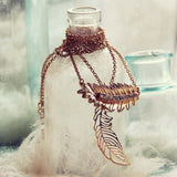Feather & Gloom Necklace: Alternate View #1