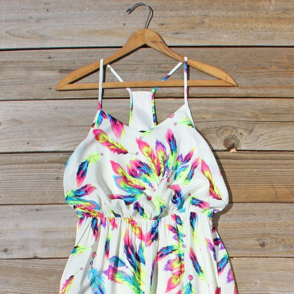 Feather Seeker Maxi Dress: Featured Product Image