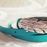Feather Tale Belt in Meadow: Alternate View #2