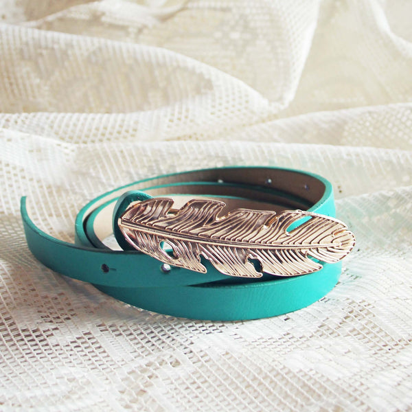 Feather Tale Belt in Meadow: Featured Product Image