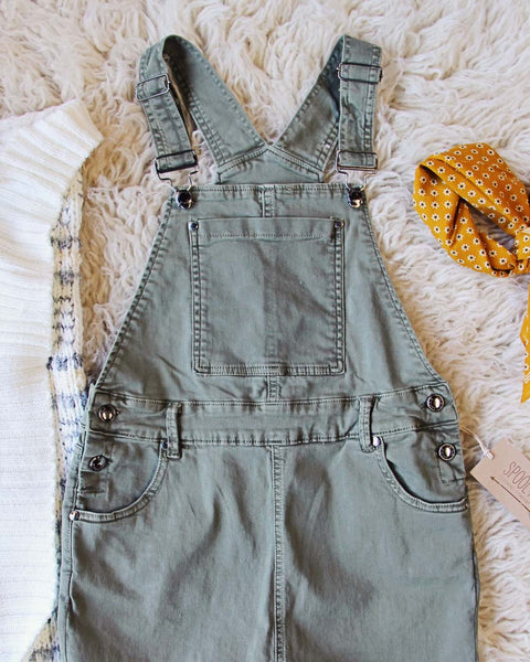 Feelin Fine Overalls: Featured Product Image