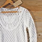Fern & Lace Blouse: Alternate View #2