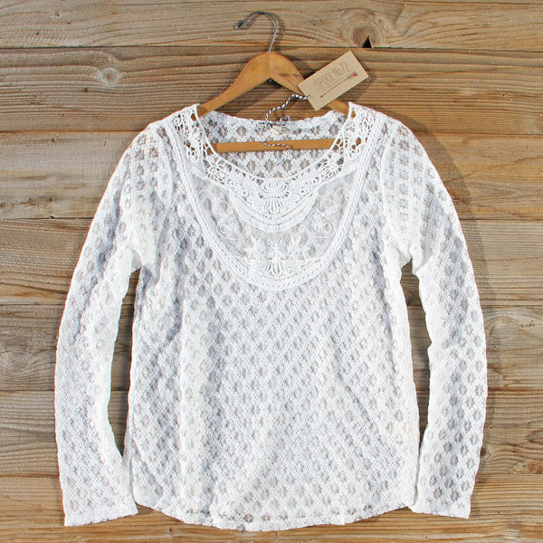 Fern & Lace Blouse: Featured Product Image