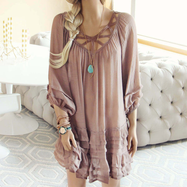 Festival Dress in Sand: Featured Product Image