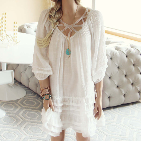 Festival Dress in White: Featured Product Image