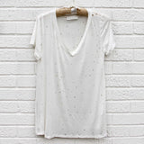 Sweet Distressed Tee: Alternate View #3