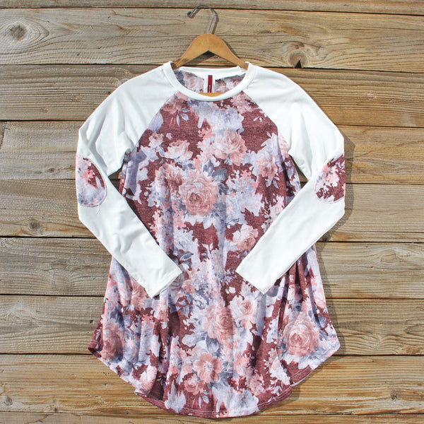 Fir & Bloom Tunic in Burgundy: Featured Product Image