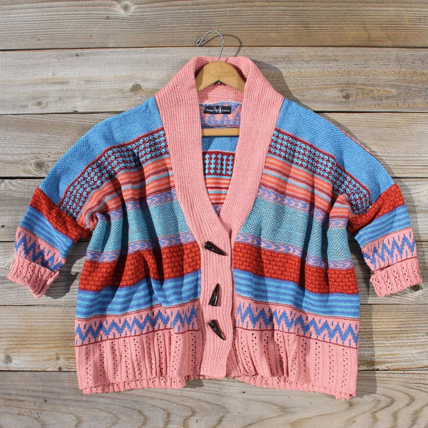 Fireside Autumn Knit Sweater in Pink: Featured Product Image