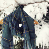 First Snow Scarf: Alternate View #2