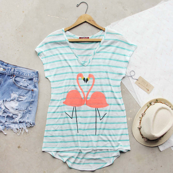Flamingo Love Tee: Featured Product Image