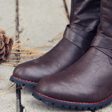 Flint Smoke Riding Boots: Alternate View #3