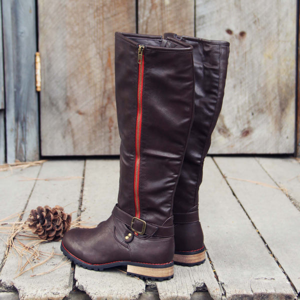 Flint Smoke Riding Boots: Featured Product Image