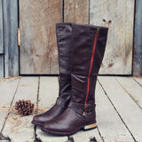 Flint Smoke Riding Boots: Alternate View #2