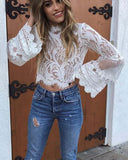 Florence Lace Top: Alternate View #3