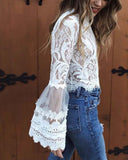 Florence Lace Top: Alternate View #2