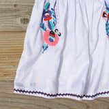 Flores Embroidered Blouse: Alternate View #3