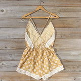 Flower Child Lace Romper: Alternate View #4