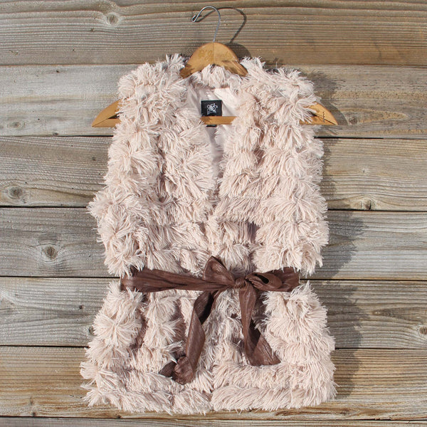 Flurries Cozy Vest: Featured Product Image