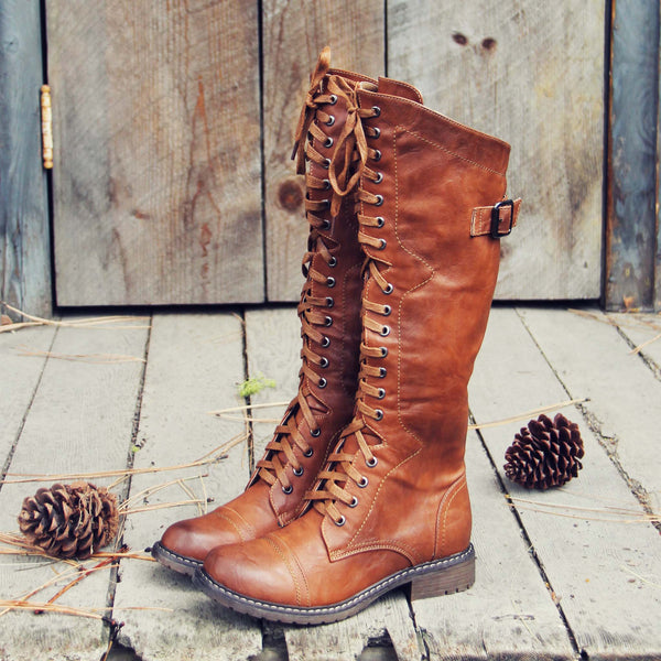 The Flurry & Smoke Boots: Featured Product Image
