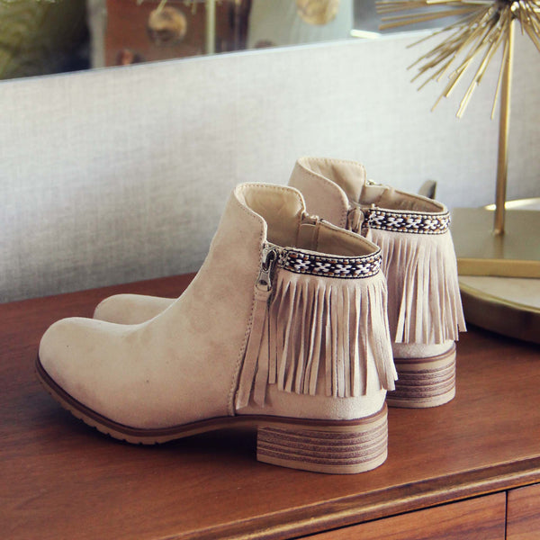 Folk Town Booties: Featured Product Image