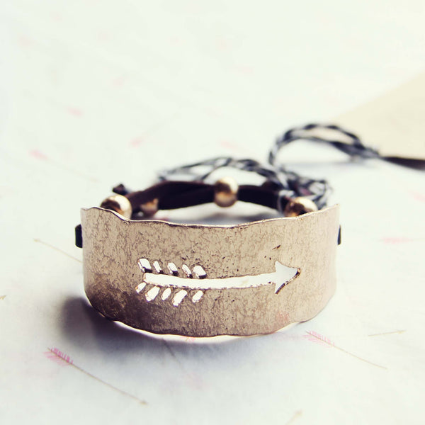 Follow & Arrow Bracelet: Featured Product Image