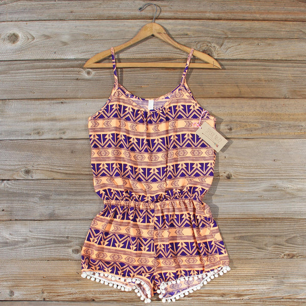 Fortune Sands Romper: Featured Product Image