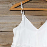 Fortune Teller Romper in White: Alternate View #2