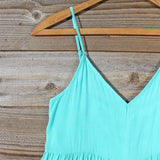 Fortune Teller Romper in Mint: Alternate View #2