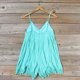 Fortune Teller Romper in Mint: Alternate View #4