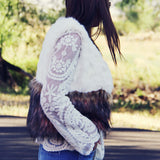 The Wyoming Faux Fur Vest: Alternate View #4