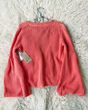 Free People Coral Moon Summer Sweater: Alternate View #3