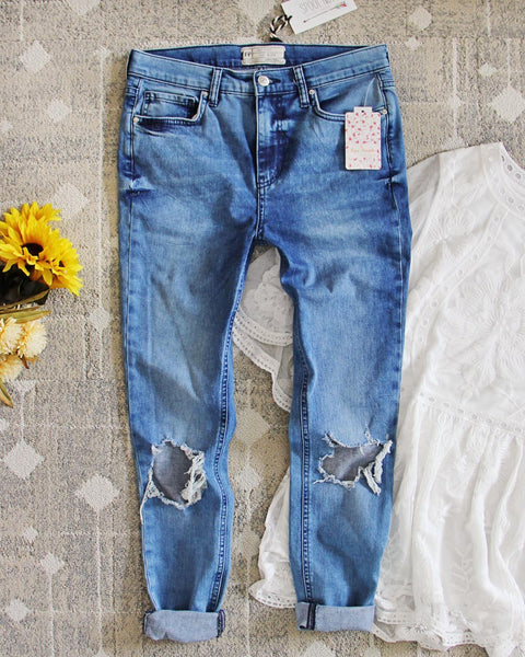Spool + Free People Distressed Jeans: Featured Product Image