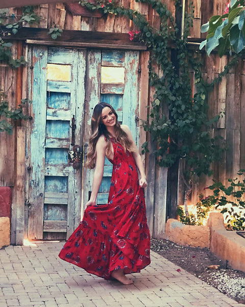 c314aa3eabd Free People Garden Party Maxi Dress