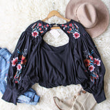 Free People Lita Embroidered Top: Alternate View #4