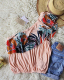 Free People Maui Ruffle Top: Alternate View #3