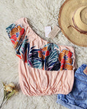 Free People Maui Ruffle Top: Alternate View #1