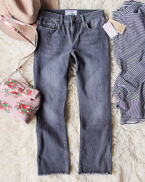 Spool + Free People Rough Hem Jeans: Featured Product Image