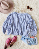 Free People Sugar Rush Tee in Sky: Alternate View #3