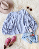 Free People Sugar Rush Tee in Sky: Alternate View #1