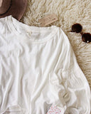 Free People Sugar Rush Tee in White: Alternate View #2