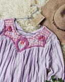 Free People Sweet Begonia Tee in Lilac: Alternate View #2