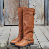 The Freestone Boots in Oak: Alternate View #3