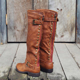 The Freestone Boots in Oak: Alternate View #2