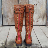 The Freestone Boots in Oak: Alternate View #1