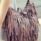 Canyon Fringe Tote: Alternate View #3